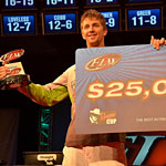 Pipkens wins final co-angler event before turning pro