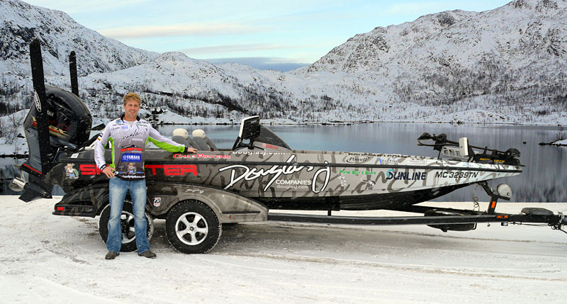 Chad Pipkens 2013 Wrapped Skeeter Boat and Yamaha Outboard