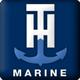 T H marine logo