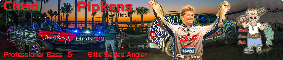 Chad Pipkens Elite Series Angler
